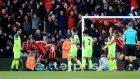 Bournemouth celebrate Steve Cook's equaliser