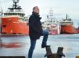 Kenneth Leggat at Aberdeen Harbour