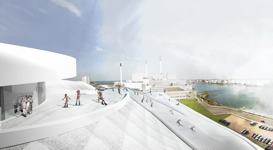Plans to build giant climbing wall, dry ski slope and picnic area… Next to new Aberdeen incinerator