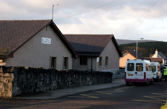 Moray Council has praised the inspection report at Tomintoul Primary School as one of the best in the region in recent years.