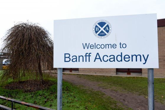 Fourth-year attainment at Banff Academy stayed at the same levels in 2018.
