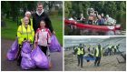 The Clean-up Aberdeen Project, led by the council's environmental services team, was set up to encourage more residents to go out collecting rubbish and cleaning graffiti in their local areas.
