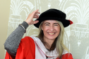 Honorary Grad, Dame Evelyn Glennie.