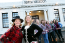 Singer Fiona Kennedy and the RGU events management students who are putting on the 6th annual Nae Ordinary Burns Supper