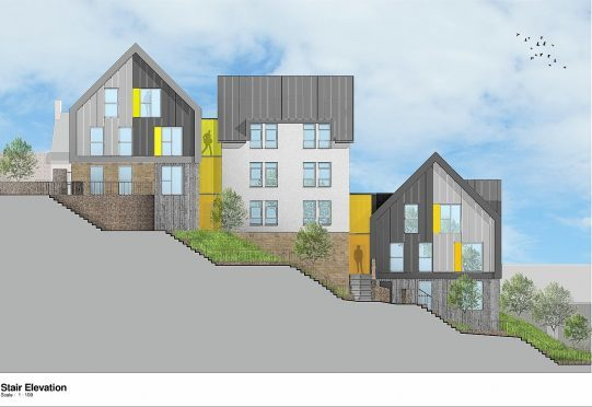 New Homes To Be Built In Inverness As Raining 39 S Stairs