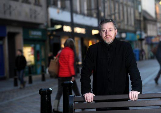 Inverness Councillor Allan Duffy