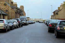 Parking has become a problem in Boddam