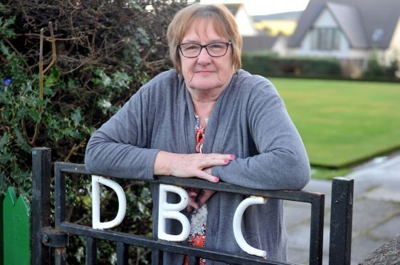 Departing secretary of Dufftown Bowling Club, Helen Ramsay, is hopeful members will step forward to save the club.