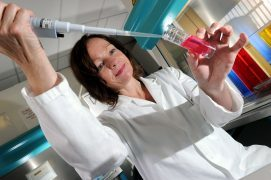 Deborah O'Neil, chief scientific officer for NovaBiotics Ltd,