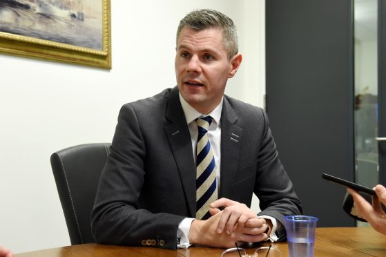 Scottish Government Finance Secretary Derek Mackay