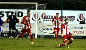 Formartine equalise with a goal by No 4 Paul Lawson.