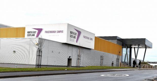 Fraserburgh's Nescol campus