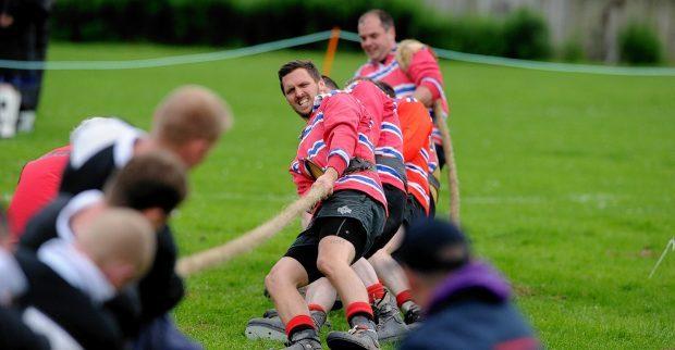 Stonehaven Highland Games -Tug of War