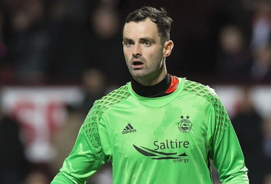 Joe Lewis was named in the PFA Scotland team of the year.
