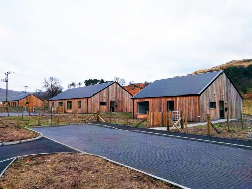 The development programme is part of an agreement to build 40 new homes per year.