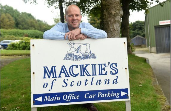 Mac Mackie of Mackie's