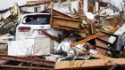 Storms destroyed half of mobile homes in a park in south Georgia - killing seven