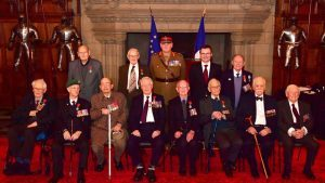 Scottish veterans of the Second World War who have been awarded France's highest honour for their role in liberating the country from German occupation (MoD)