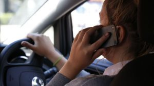 Police found 137 motorists using their mobile phones in a five-day crackdown on distracted drivers