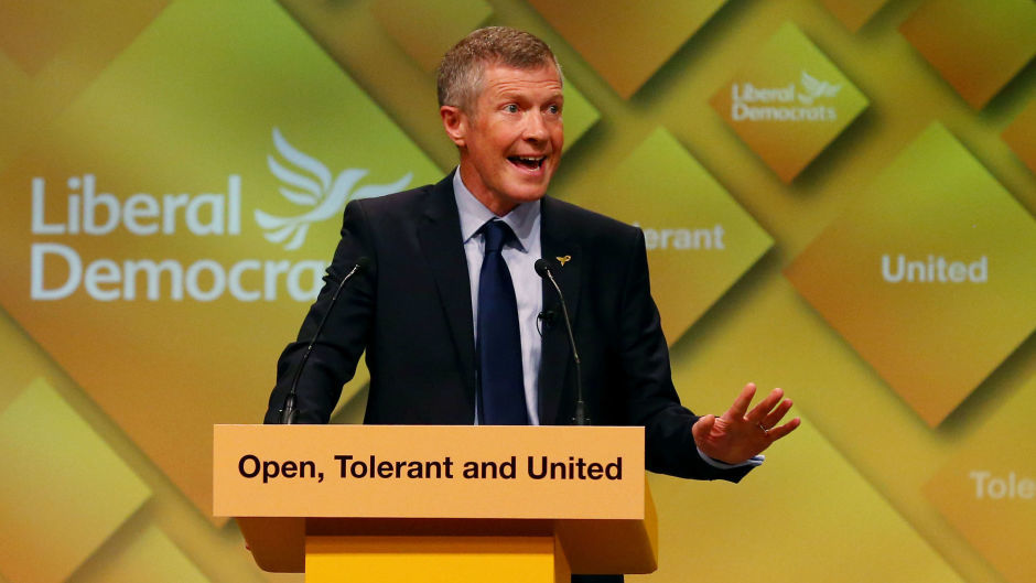 Willie Rennie forced to defend Lib Dems offering second vote on Brexit but not Scots independence