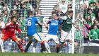 Rangers are still hurting from their defeat by Hibernian