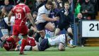 Hamish Watson, try scorer, has committed to Edinburgh