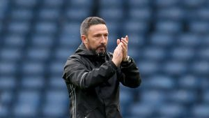 Dons boss has no fears over Stevie May's fitness