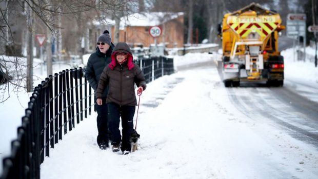 Aberdeenshire Council's budget would struggle to cope with even a mild winter next year, bosses have said.