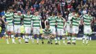 The Hoops were knocked out of the Scottish Cup on penalties
