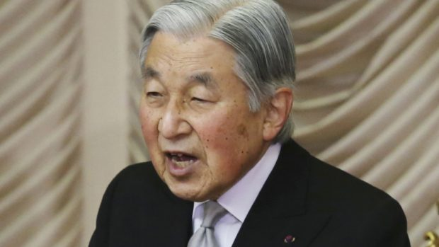 Emperor Akihito would be the first to abdicate in 200 years (Koji Sasahara/AP)