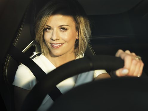Susie Wolff  Photographed by Neale Haynes in London 19/4/2016 photo credit nealehaynes.com