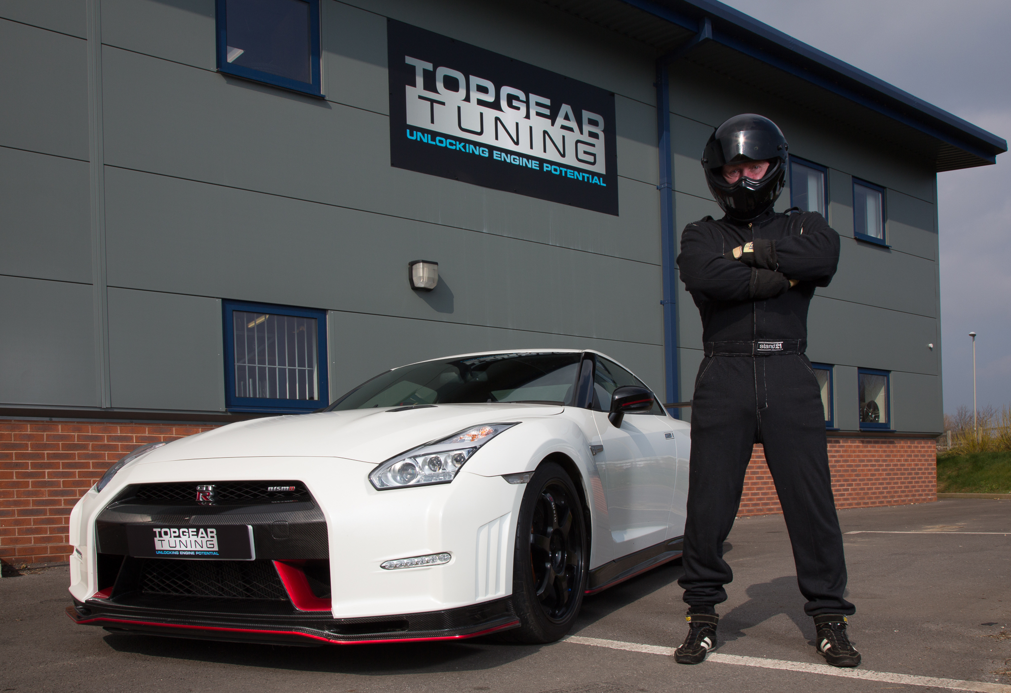 The Stig is heading to the north-east to take part in wacky races
