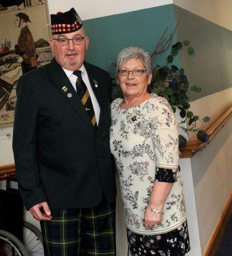 Alma Jappy and VC parade executive treasurer, Alan Carter.