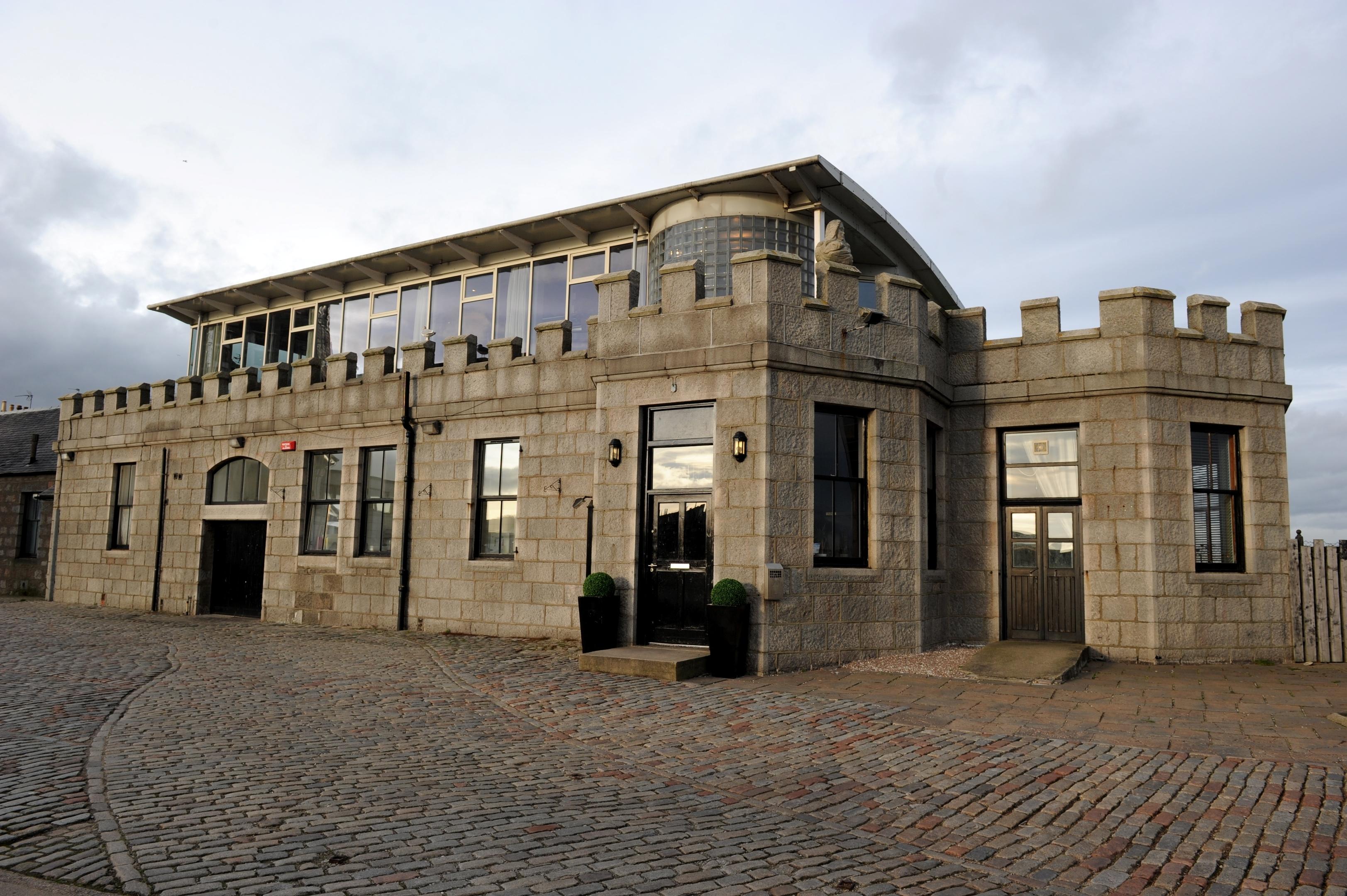 Silver Darling, Aberdeen Harbour.