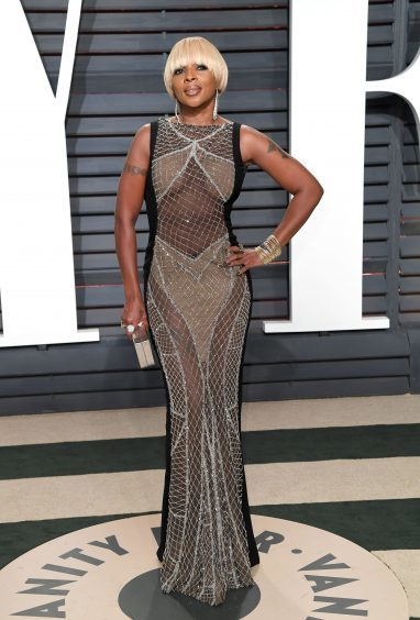 Mary J. Blige. Photo credit: PA/PA Wire