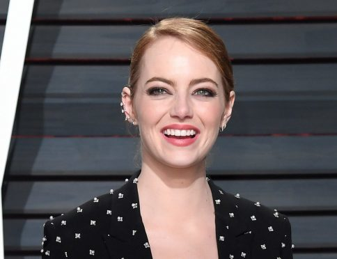 Emma Stone. Photo credit: PA/PA Wire
