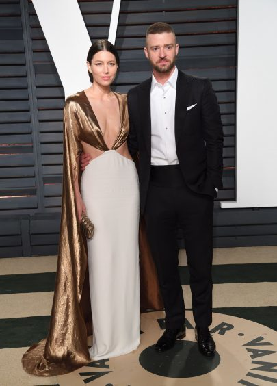 Jessica Biel and Justin Timberlake. Photo credit: PA/PA Wire
