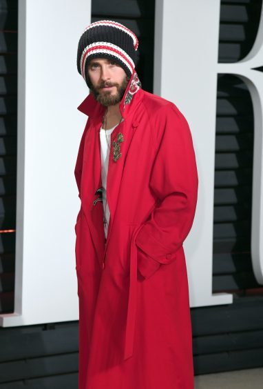 Jared Leto. Photo credit: PA/PA Wire