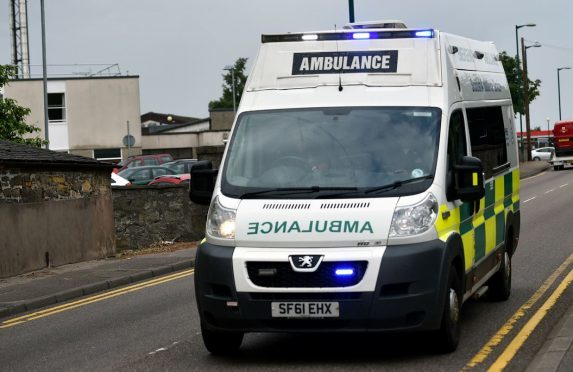 The Scottish Ambulance Service has denied cutting back services in Caithness