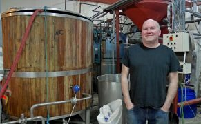 Andy Ribbens of the Hebridean Brewing Company. Picture by Peter Urpeth.