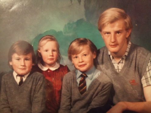 From left to right Stephen and Claire  Glancey, David and Garry Birkett
