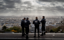French Police officers stand on guard (file pic - AP)