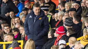 VIDEO: Furious Mark McGhee rages at Dons fans after being sent to the stands in 7-2 Pittodrie rout