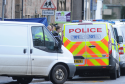Police activity on Southside Road on Thursday morning following the discovery of a body