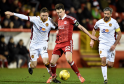 The Dons defeated Motherwell 7-2 at Pittodrie last month.