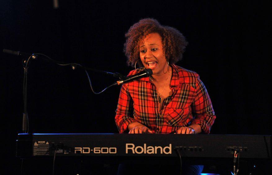 Emeli Sande performing at the Lemon Tree, Aberdeen in 2010    .