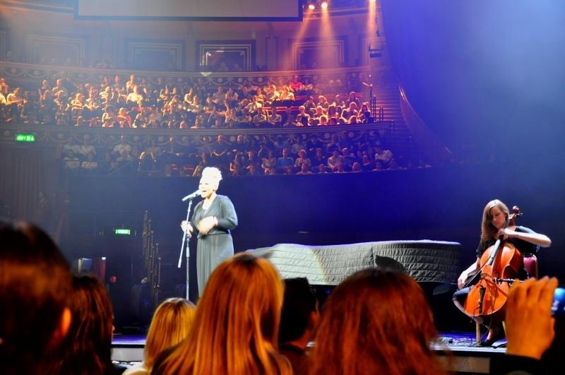 Emeli Sande performing at the Albert Hall in 2011.