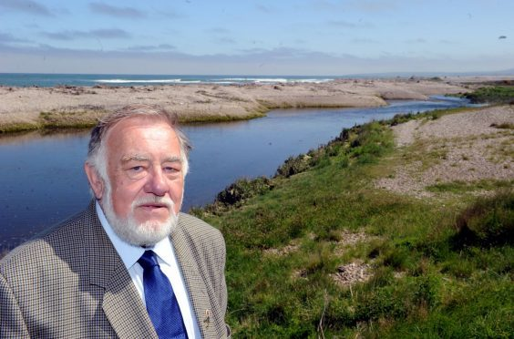 Jim Mackie, chairman of the James A Mackie Memorial Trust, is concerned about the level of microplastics in Spey fish.