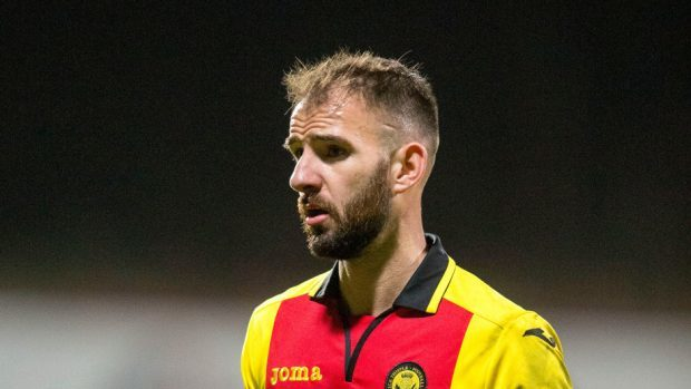 Sean Welsh previously played for Partick Thistle.