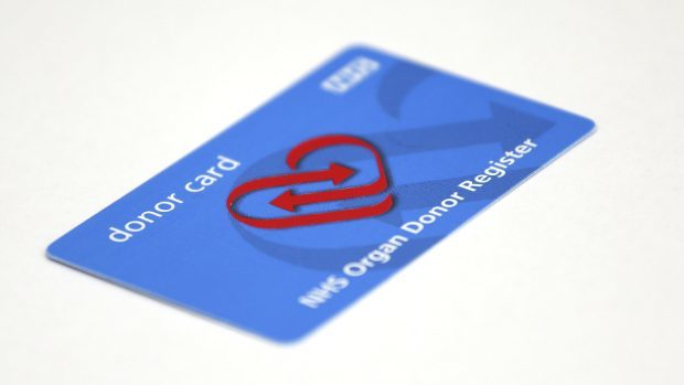 An opt-out organ donation system means there is a presumption of consent unless a person has registered an objection in advance